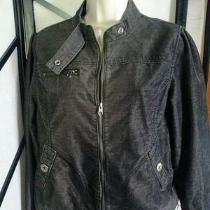 Mossimo  Supply  Co  Grey Corduroy  Jacket